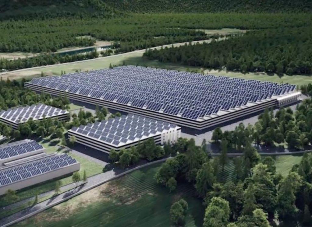 installation photovoltaique usine a saumon