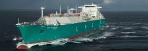 Dernier bateau Gaz de France GNL