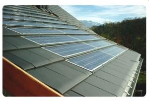 Tuiles solaires photovoltaïques
