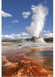 Exemple de chaleur terrestre, le geyser