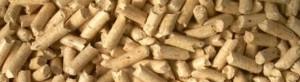 granulés en bois communément appelé plaquette