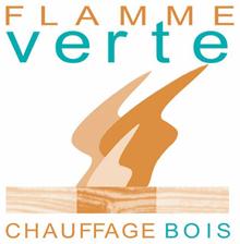 Label Flamme Verte