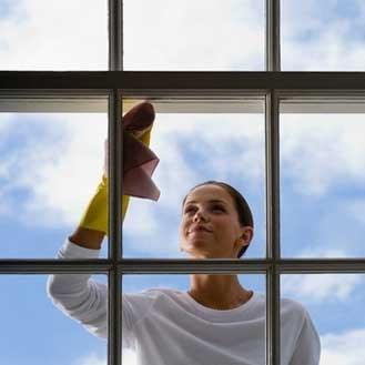 Lavage écologique des vitres