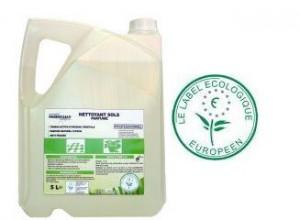Un nettoyant écologique pour les sols