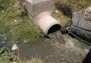 Point de rejet d'eaux usées