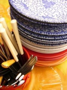 Laver sa vaisselle écologiquement