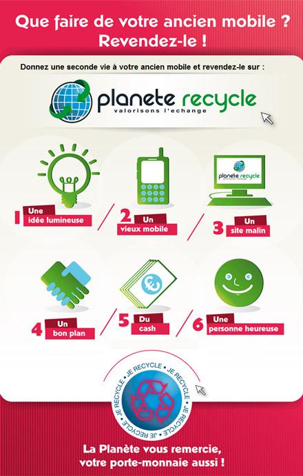 recyclez votre téléphone portable