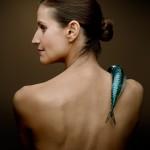 Joanna Bergin pose nue pour dire non au chalutage de fond