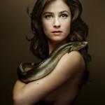 Mélanie Bernier pose nue pour dire non au chalutage de fond