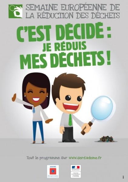 Semaine européenne de la réduction des déchets du 18 au 26 novembre !