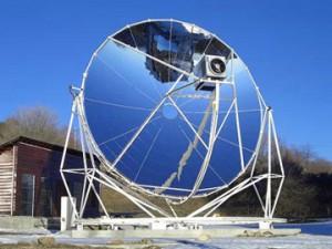 centrales à capteurs paraboliques