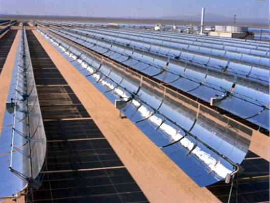 centrales à collecteurs cylindro-paraboliques