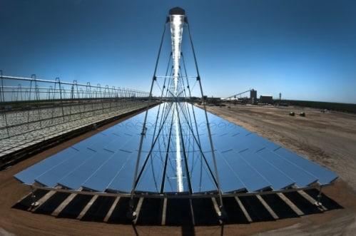centrales solaires à miroir de Fresnel