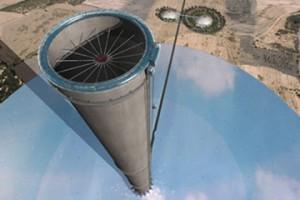 tour solaire à effet de cheminée