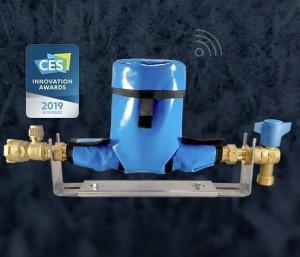 Une housse connectée qui isole les compteurs d'eau et protège contre le gel