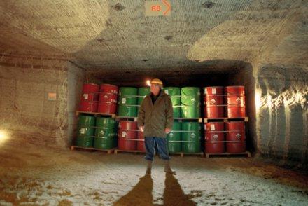 Stocamine devait contenir 320 000 tonnes de déchets industriels dangereux non radioactifs