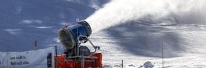 la pollution des canons a neige