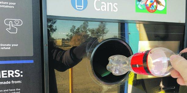 collecte bouteille plastic norveige